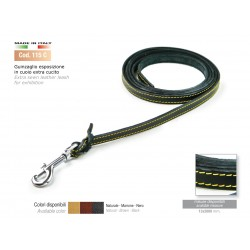 EXTRA SEWN LEATHER LEASH FOR EXHIBITION