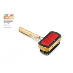 DOUBLE USE WOODEN BRUSH