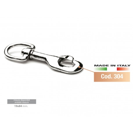 SNAP REINS CHROME (19X84 MM)