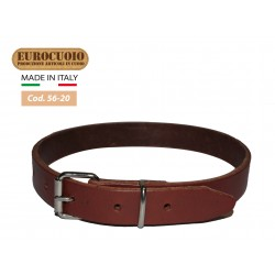 NATURAL BLACK BROWN LEATHER COLLAR FOR SHEEP