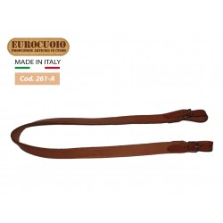 LINED AND SEWN LEATHER RIFLE STRAP